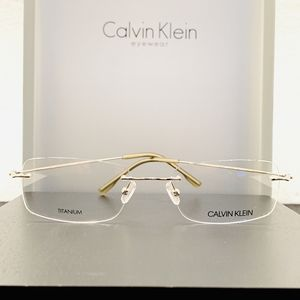 Calvin Klein Collection Glasses Style CK7503 Gold